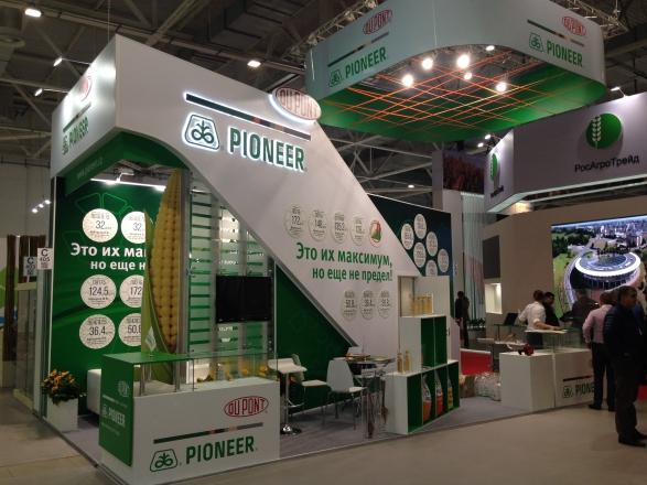 DuPont - изготовление выставочных стендов в Самаре и Новосибирске