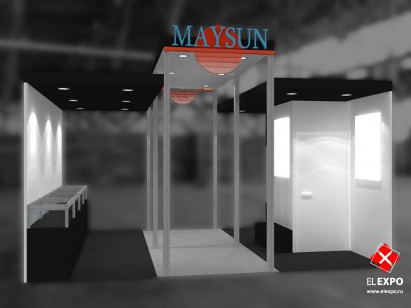 Майсан - изготовление выставочных стендов в Самаре и Новосибирске