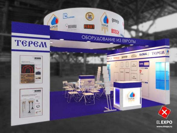 Терем - изготовление выставочных стендов в Самаре и Новосибирске