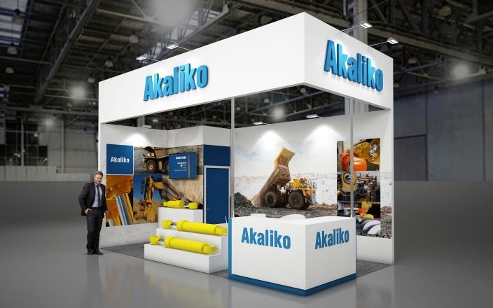 AKALIKO - изготовление выставочных стендов в Самаре и Новосибирске