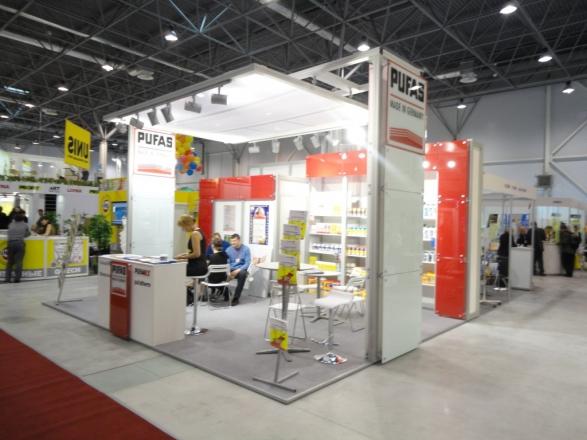 Пуфас - изготовление выставочных стендов в Самаре и Новосибирске