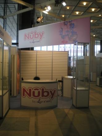 Nuby - изготовление выставочных стендов в Самаре и Новосибирске