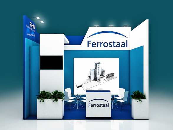 Ferrostaal - изготовление выставочных стендов в Самаре и Новосибирске