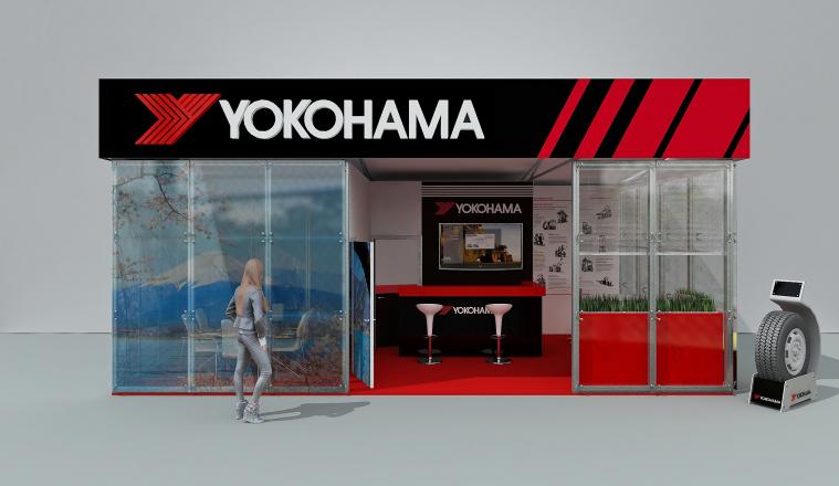 YOKOHAMA - изготовление выставочных стендов в Самаре и Новосибирске