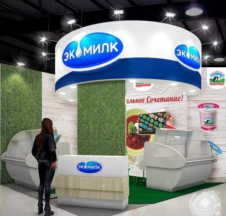 ЭКОМИЛК - изготовление выставочных стендов в Самаре и Новосибирске