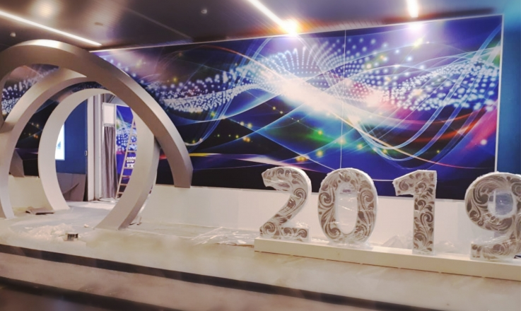 2019 - изготовление выставочных стендов в Самаре и Новосибирске