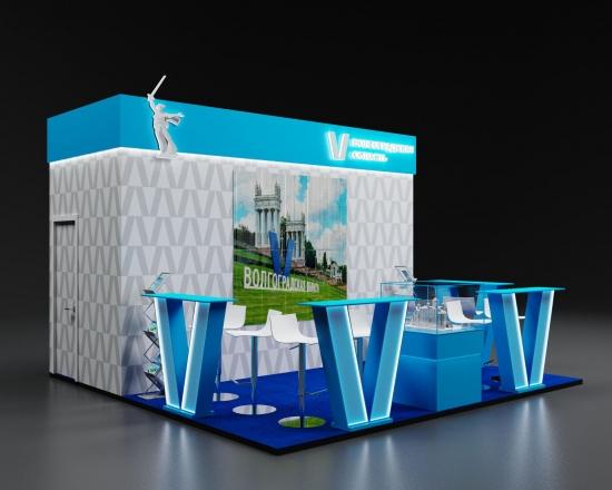 ВОЛГОГРАД - изготовление выставочных стендов в Самаре и Новосибирске
