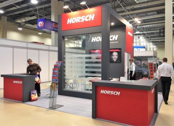 Horsch - изготовление выставочных стендов в Самаре и Новосибирске