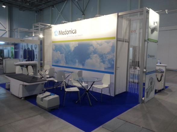 Medonica - изготовление выставочных стендов в Самаре и Новосибирске