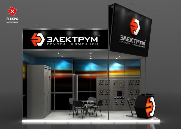 Электрум - изготовление выставочных стендов в Самаре и Новосибирске
