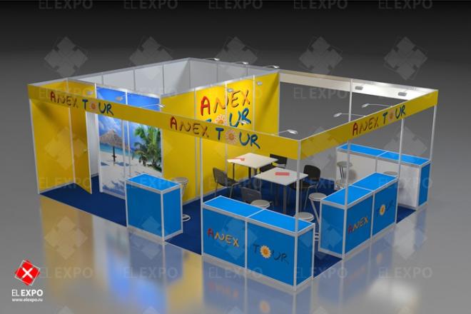 Anex Tour - изготовление выставочных стендов в Самаре и Новосибирске