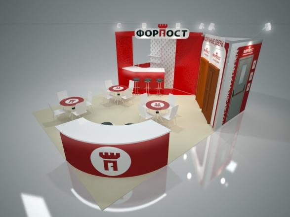 ФорПост - изготовление выставочных стендов в Самаре и Новосибирске