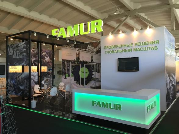 Famur - изготовление выставочных стендов в Самаре и Новосибирске