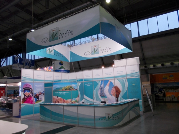 Natalie Tours - изготовление выставочных стендов в Самаре и Новосибирске