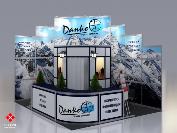 Данко - изготовление выставочных стендов в Самаре и Новосибирске