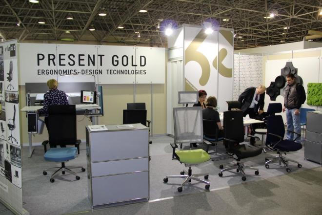 Present Gold - изготовление выставочных стендов в Самаре и Новосибирске