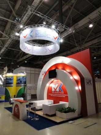 ВМК - изготовление выставочных стендов в Самаре и Новосибирске