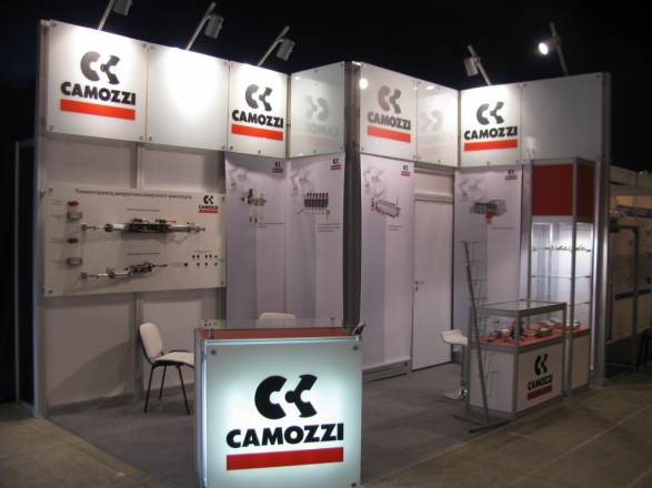 Камоцци - изготовление выставочных стендов в Самаре и Новосибирске