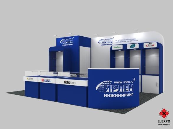 Irlen Челябинск - изготовление выставочных стендов в Самаре и Новосибирске