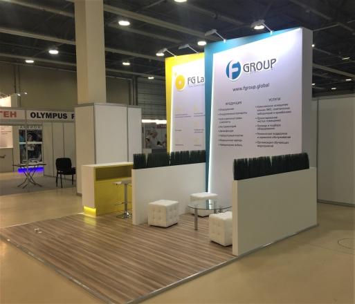 F-GROUP - изготовление выставочных стендов в Самаре и Новосибирске