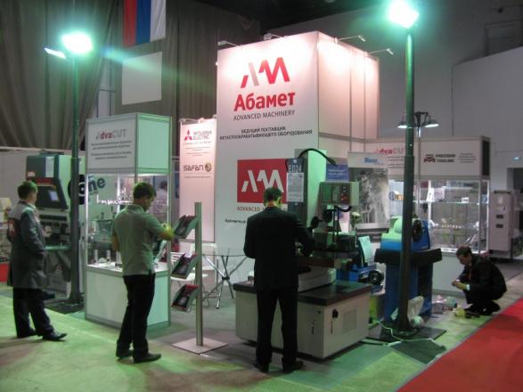Абамет - изготовление выставочных стендов в Самаре и Новосибирске