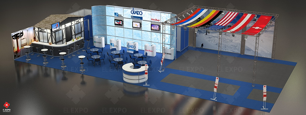 Скадо - изготовление выставочных стендов в Самаре и Новосибирске