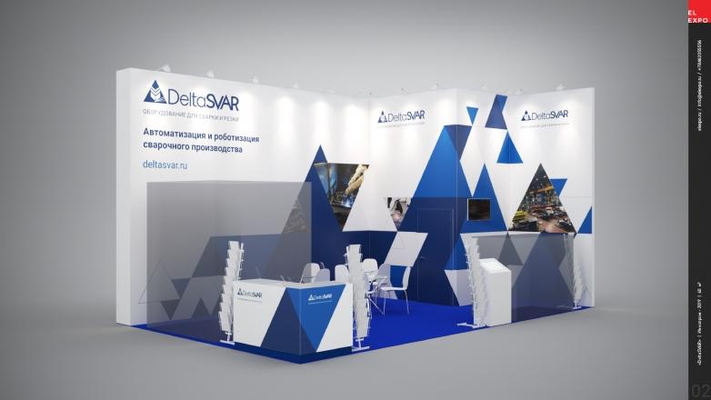 ДЕЛЬТАСВАР - изготовление выставочных стендов в Самаре и Новосибирске