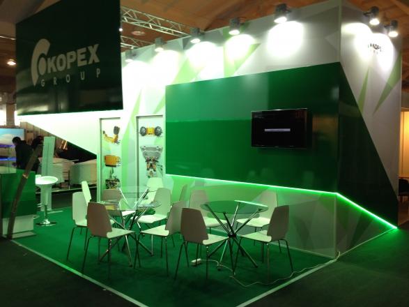 KOPEX-Новокузнецк - изготовление выставочных стендов в Самаре и Новосибирске
