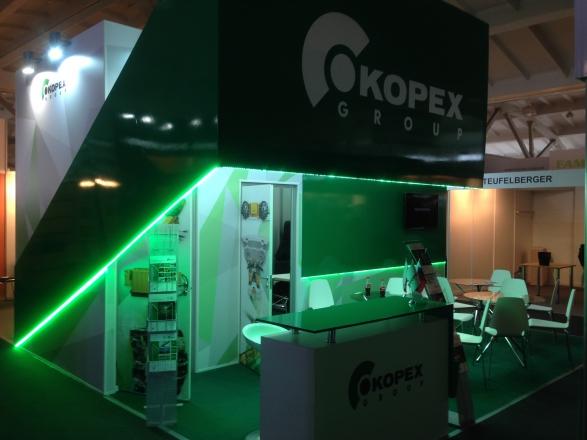 KOPEX GROOP - изготовление выставочных стендов в Самаре и Новосибирске