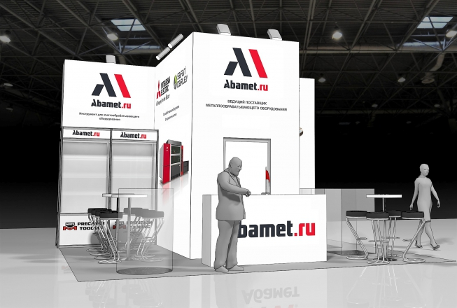 ABAMET - изготовление выставочных стендов в Самаре и Новосибирске