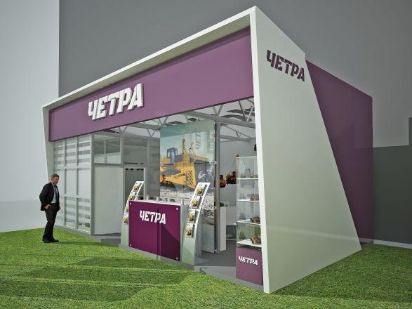 ЧЕТРА - изготовление выставочных стендов в Самаре и Новосибирске