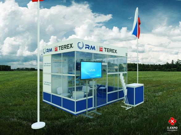 RM - изготовление выставочных стендов в Самаре и Новосибирске