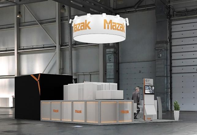 MAZAK - изготовление выставочных стендов в Самаре и Новосибирске