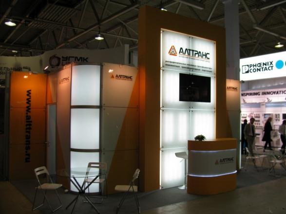 Alttrans - изготовление выставочных стендов в Самаре и Новосибирске