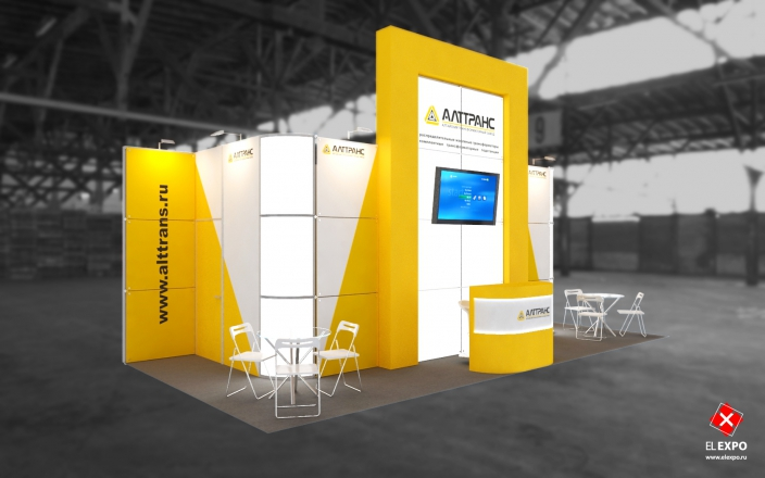 Алттранс - изготовление выставочных стендов в Самаре и Новосибирске