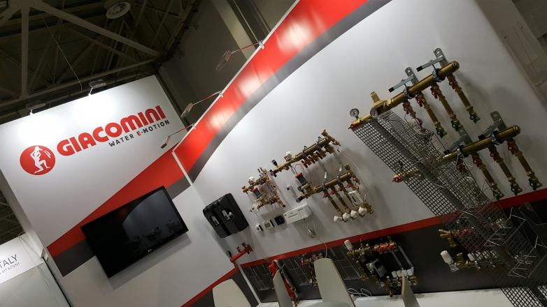 Giacomini - изготовление выставочных стендов в Самаре и Новосибирске