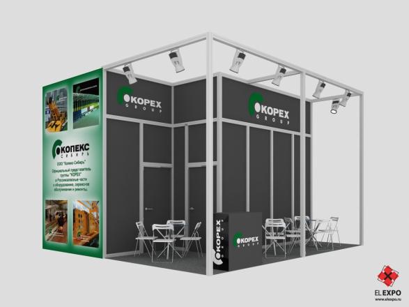 Kopex Новокузнецк - изготовление выставочных стендов в Самаре и Новосибирске