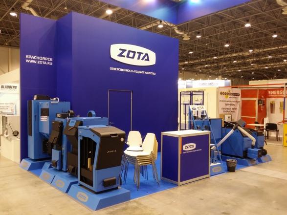 ZOTA.RU - изготовление выставочных стендов в Самаре и Новосибирске