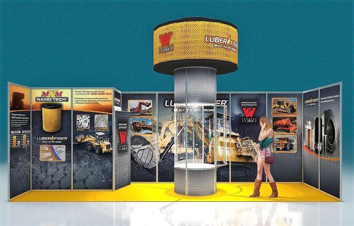 UBER-FINE - изготовление выставочных стендов в Самаре и Новосибирске