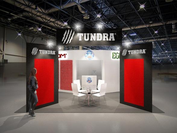 TUNDRA - изготовление выставочных стендов в Самаре и Новосибирске