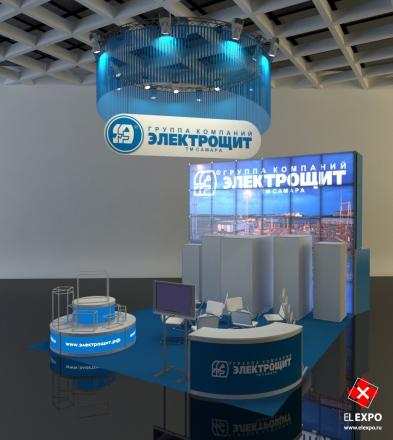 Электрощит - изготовление выставочных стендов в Самаре и Новосибирске