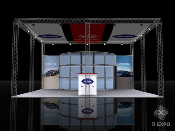ИЖ-Авто - изготовление выставочных стендов в Самаре и Новосибирске