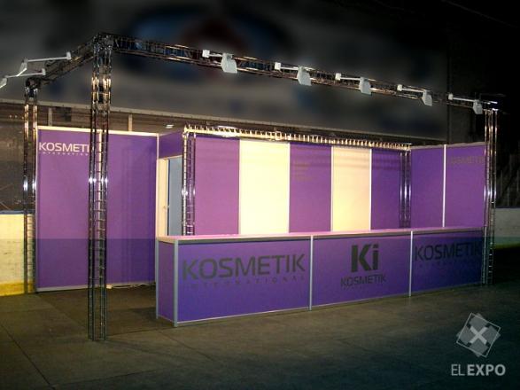 Ki Kosmetik - изготовление выставочных стендов в Самаре и Новосибирске