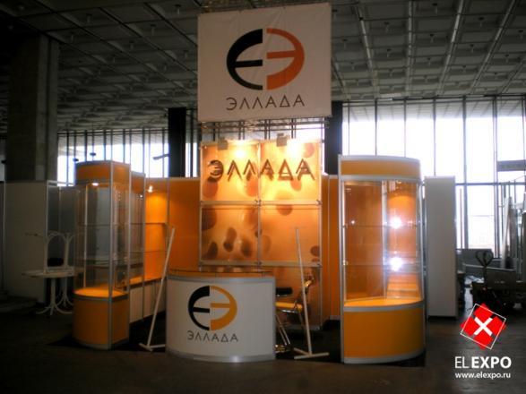 Эллада - изготовление выставочных стендов в Самаре и Новосибирске